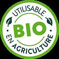 Utilisable en agriculture bio