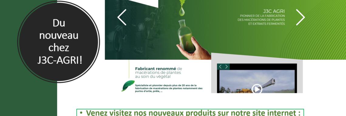 Du nouveau chez J3C-AGRI ! Venez visitez nos nouveaux produits !